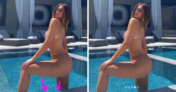 Kylie jenner photoshop, Kylie Jenner photoshop fail, kylie jenner pics, kylie jenner bikini, kylie jenner bikini pic