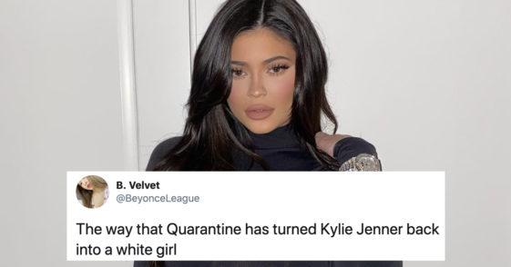 kylie jenner quarantine