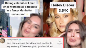 Hostess Who Went Viral For Calling Out Rude Celebs Gets Apology From Hailey Bieber
